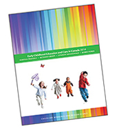 Early childhood education and care in Canada 2014 - cover image